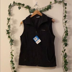 NWT Black Columbia Vest M